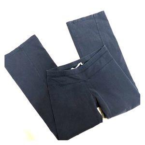 Athleta gray boot cut yoga pants in size L